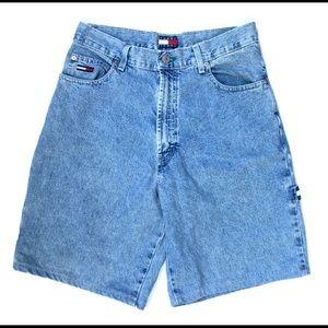 Vintage Tommy Hilfiger denim carpenter shorts